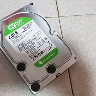"WTS: WD GREEN 2TB 3.5"" HDD"