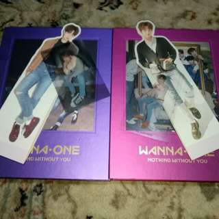 ALBUM WANNA ONE - NOTHING WITHOUT YOU (DUA VERSI)
