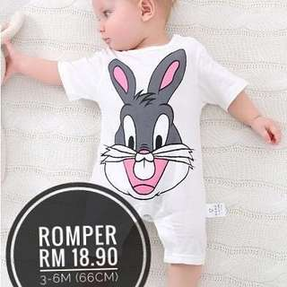 Romper cartoon bug bunny