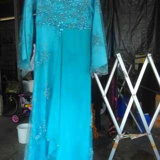 Dress pesta muslimah
