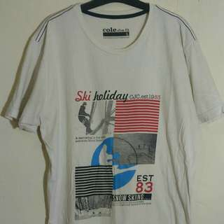 #SALE Branded Kaos Cole Slim Fit L