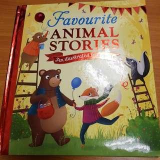 Favourite Animal Stories - An illustrated treasury