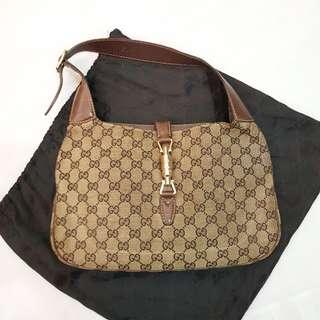 Gucci Classic Monogram Hobo Bag