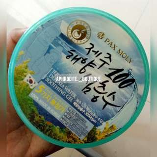 PAX MOLY Jeju 100 Deep Sea Water Soothing Gel (Made in Korea)