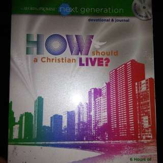 How Should a Christian Live? Devotional and journal