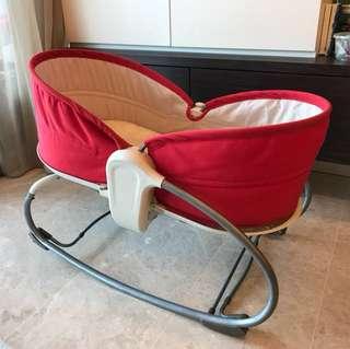 Baby bassinet rocker