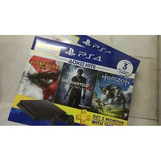ps4 hits ii bundle set console (NEW)