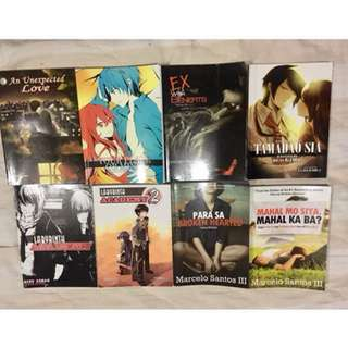SALE!!! Wattpad Books Bundle (PSICOM)