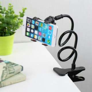 Cellphone adjustable holder with clamp