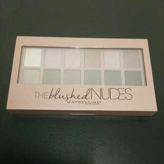 Maybelline 時尚伸展台訂製12色眼彩盤 Nude2 小禮服