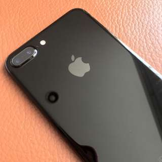 iPhone 7 plus jetblack 256GB masih garansi + normal