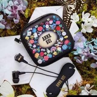 全新 Cosmopolitan x Anna Sui 經典蝴蝶耳機套裝