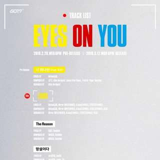 [PO] GOT7 Eyes on you