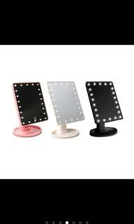 22 LED Adjustable Mirror