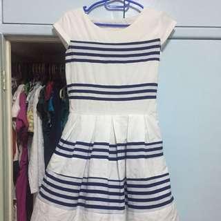 Nautical chic dress