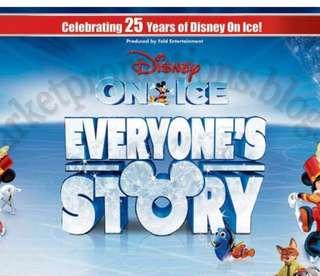 Disney On Ice Ticket 15 Mar 7pm