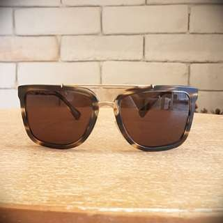 Authentic Brand New Dolce & Gabbana sunglasses in matte brown