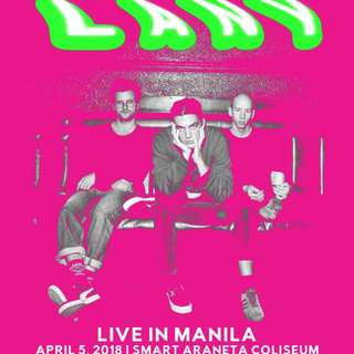LANY TICKET (FOR 2)