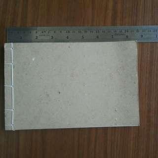 Handmade Dot Grid BuJo Notebook (Bullet Journal)