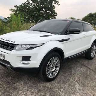 2012 Range Rover Evoque SD4 2 Door Coupe SUV