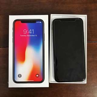 Iphone X 256GB Space Gray Brand New