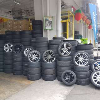 New Tyre & Used Tyre