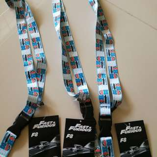 Fast and Furious Badge Strips
