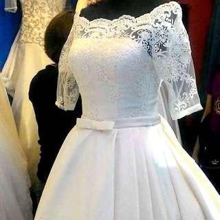 Elegant Wedding Gown (FOR RENT)