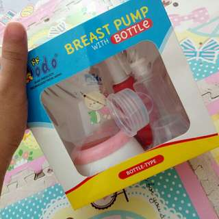breastpump with bootle (manual)