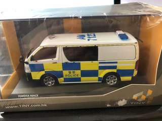 1/43 Tiny Toyota Hiace 2015 Hong Kong Traffic Police