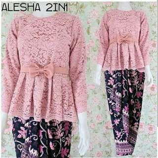 set alesha 2 in 1 pink dusty
