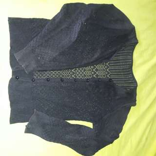 Cardigan fit to M