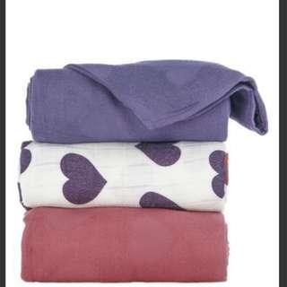 Tula Blanket Love Violette set
