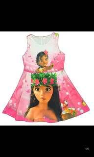 New arrival PO Moana dress set brand new size -100 to 140cm