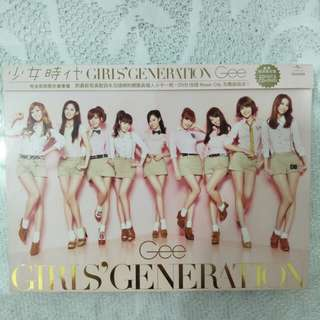 🚚 少女時代-Gee日文單曲CD+DVD(台壓完全初回限定豪華盤)