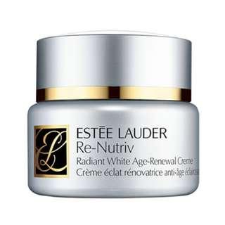 Estee Lauder Re-Nutriv Radiant White Age-Renewal Creme 1.7oz/50ml