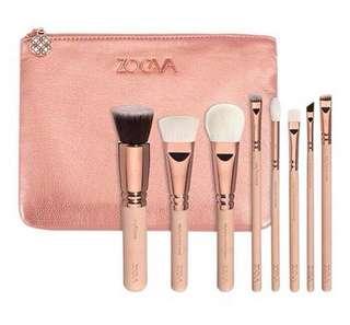 ZOEVA 8pcs Makeup Brush Set