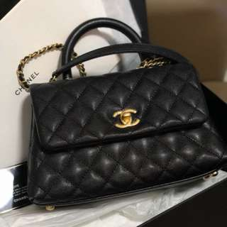 Chanel coco handle mini size