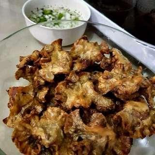 Homemade Elias Chilak's Chicharong Bulaklak