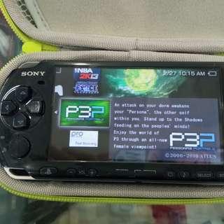 Psp slim with 16gb memory (psp 3001) model