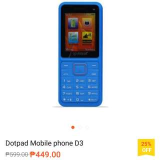 Dotpod D3 mobile phone