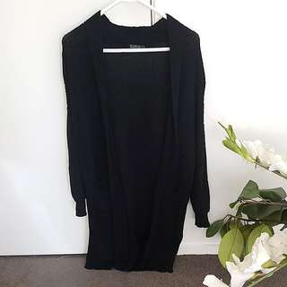 Longline Knit Cardigan
