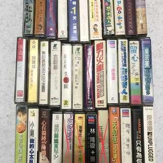 🚚 錄音帶/卡帶(1個80元)