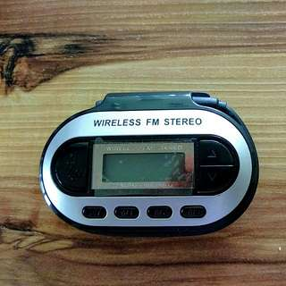 Wireless FM Stereo Transmitter
