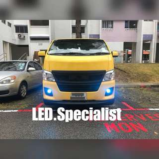 Toyota Hiace LED Fog light