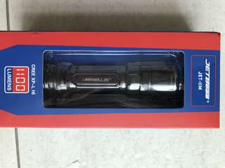 Jetbeam tactical flashlight