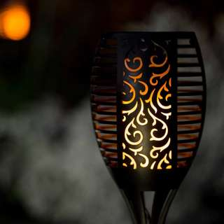 Dancing Flame Solar Waterproof Garden Lamp