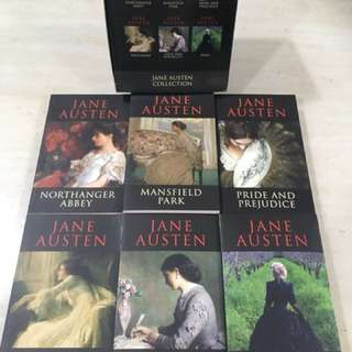 Jane Austen Classics Box Set of 6