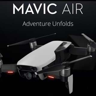 Dji Mavic Air Combo Set (Choice of Black or White)