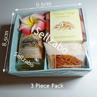 Sandalwood Aroma Spa Mini Pack Sellzabo Aromatheraphy Travel Size